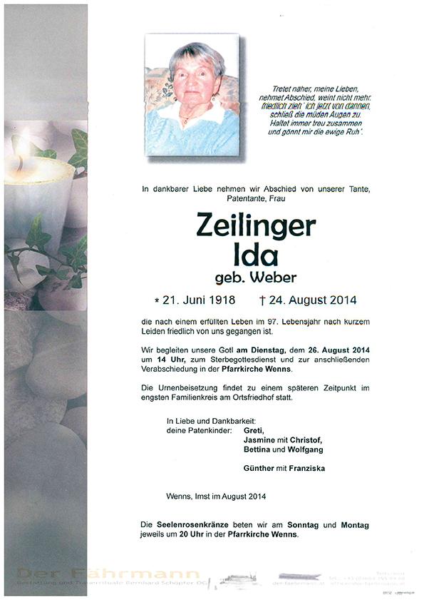 Parte Zeilinger Ida
