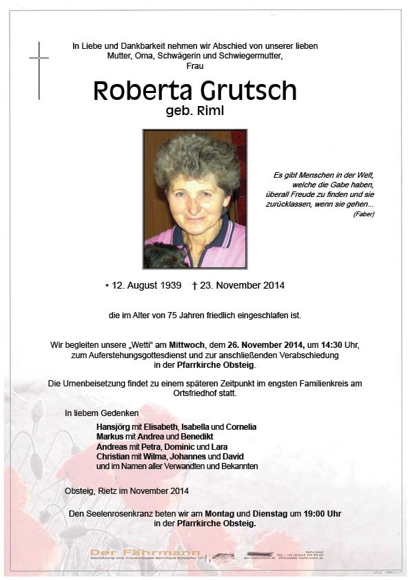 Roberta Grutsch