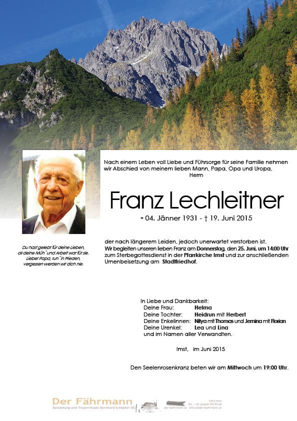 Parte Lechleitner Franz