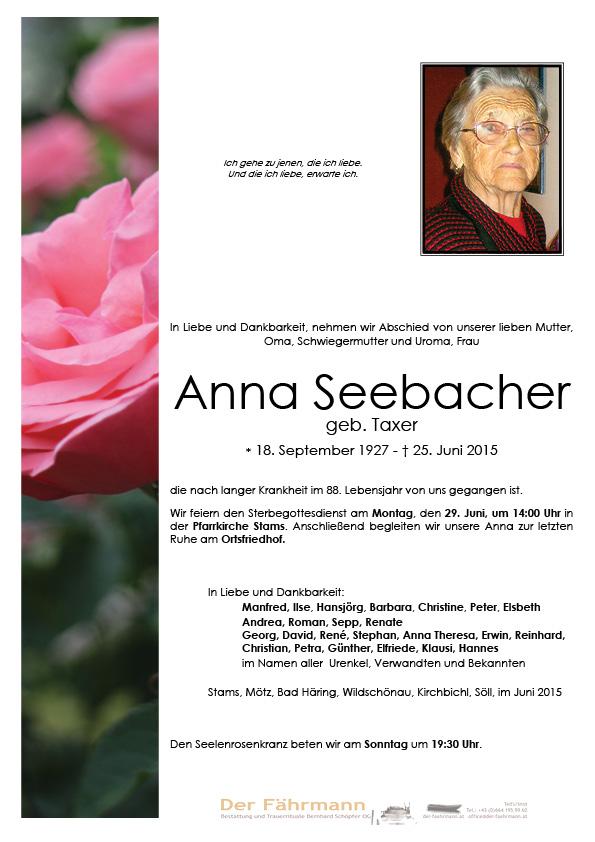 Parte Seebacher Anna