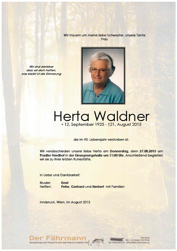 Parte Herta Waldner