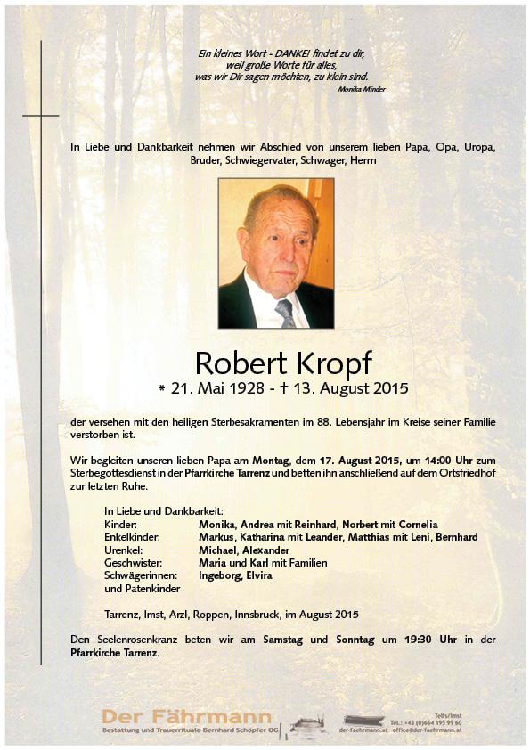 Parte Robert Kropf