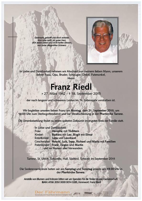 Parte Franz Riedl