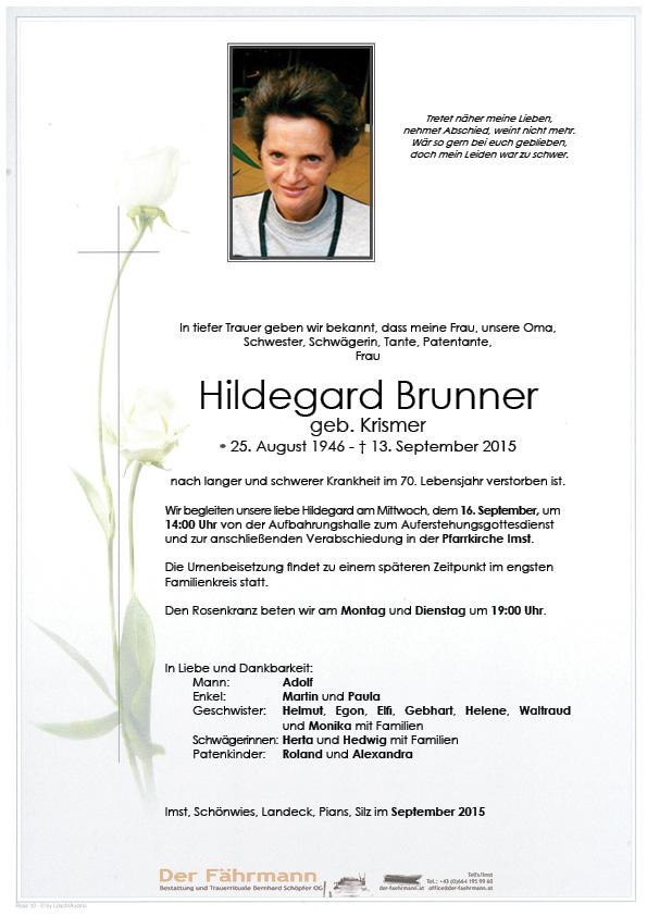Parte Hildegard Brunner