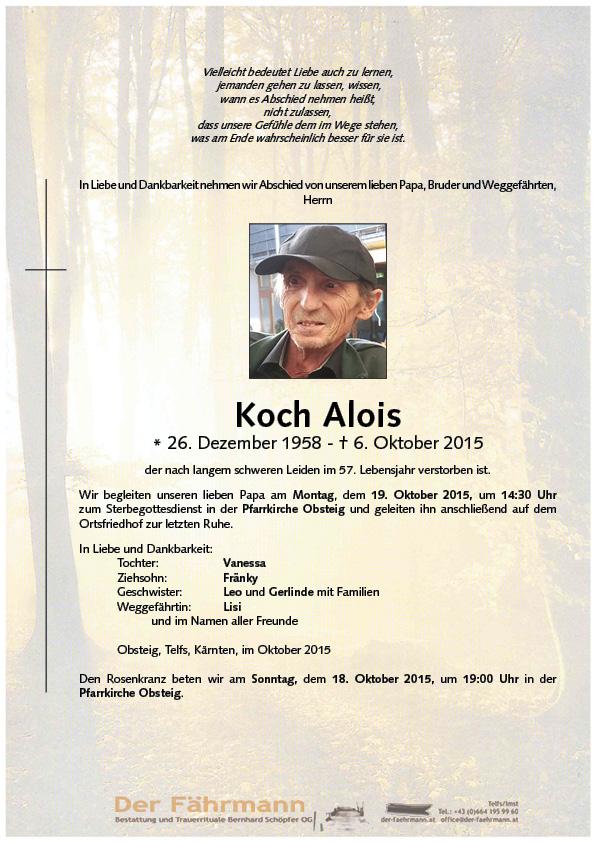 Parte Koch Alois