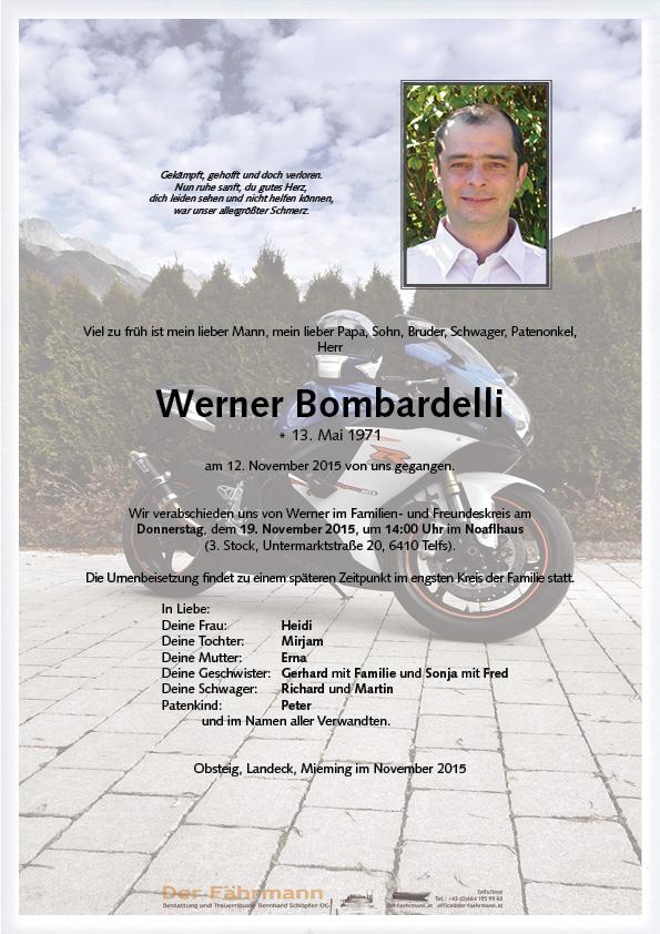 Parte Werner Bombardelli