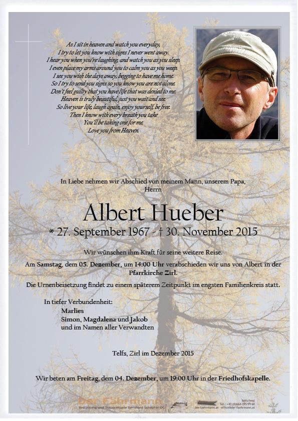 Parte Albert Hueber