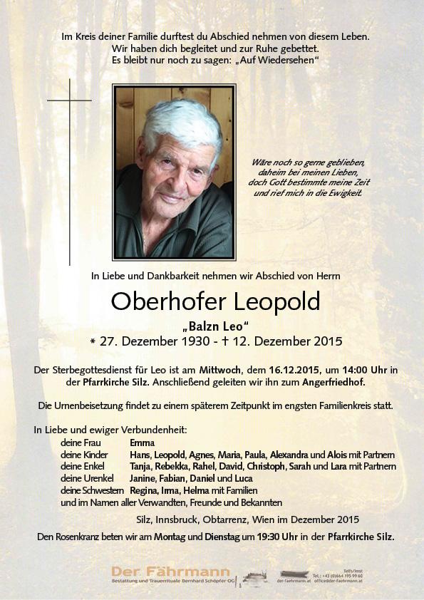 Parte Oberhofer Leopold