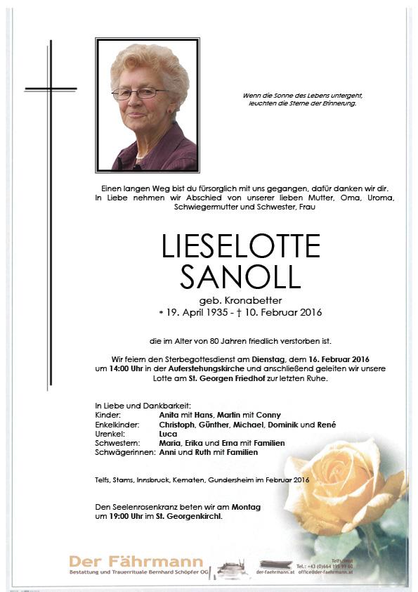 Liselotte Sanoll Parte