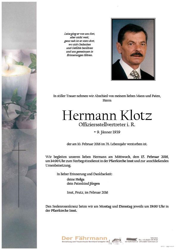 Parte Hermann Klotz