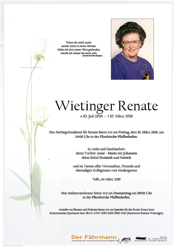 Parte Renate Wietinger