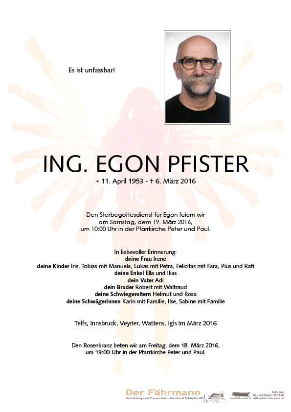 Parte Egon Pfister