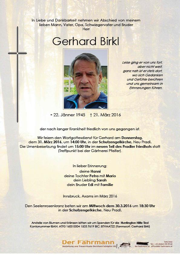 Parte Gerhard Birkl