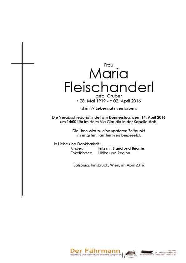 Parte Maria Fleischanderl