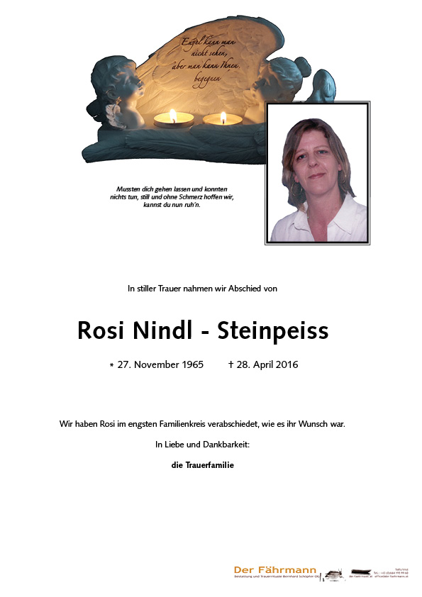 Parte Rosi Nindl - Steinpeiss