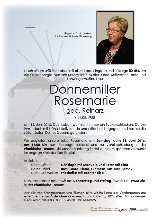 Parte Donnemiller Rosmarie