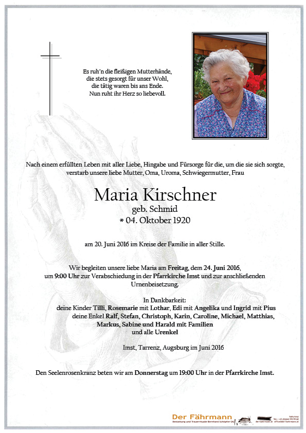 Parte Maria Kirschner
