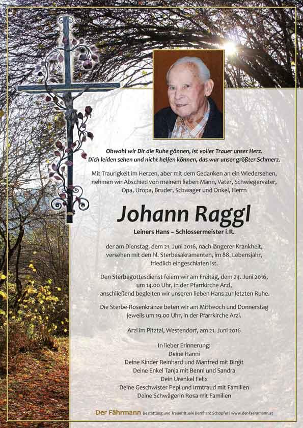 Parte Raggl Johann