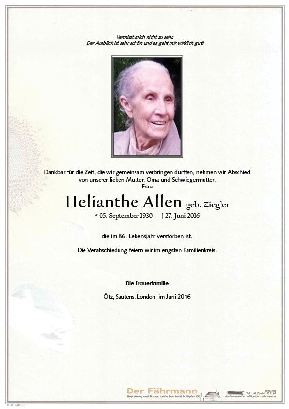 Parte Helianthe Allen