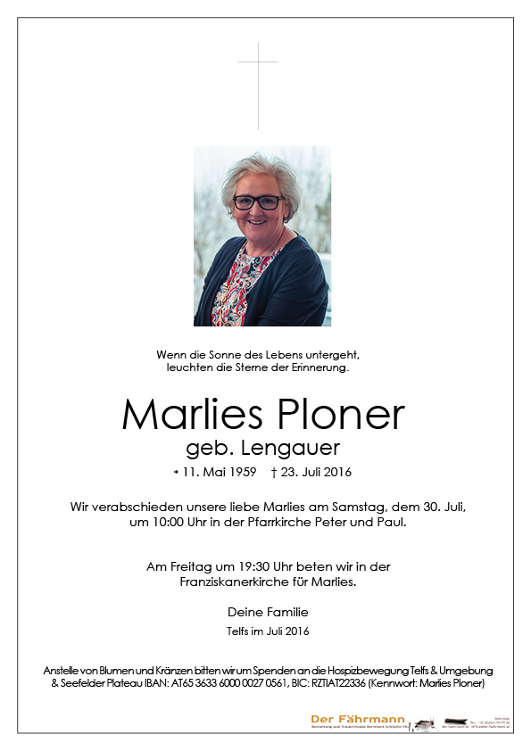 parte marlies Ploner