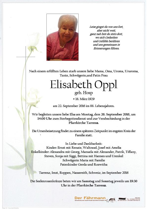 Parte Elsiabeth Oppl