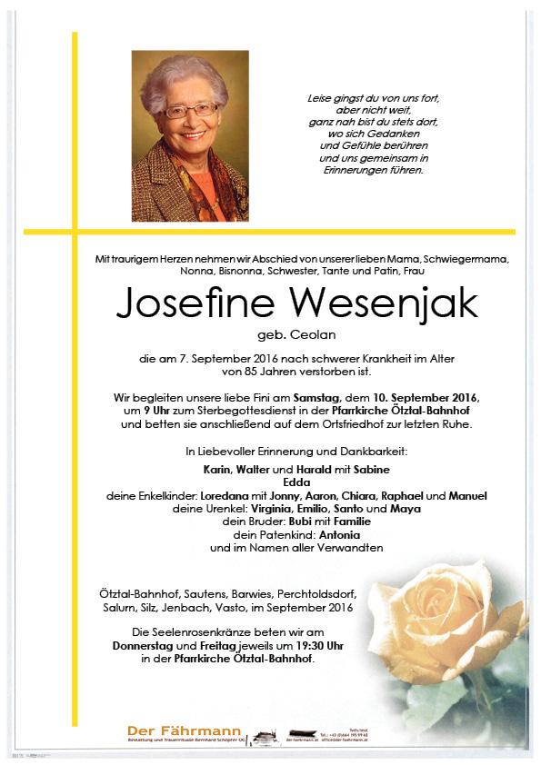 Parte Wesenjak Josefine
