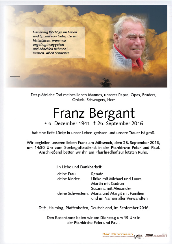 Parte Franz Bergant