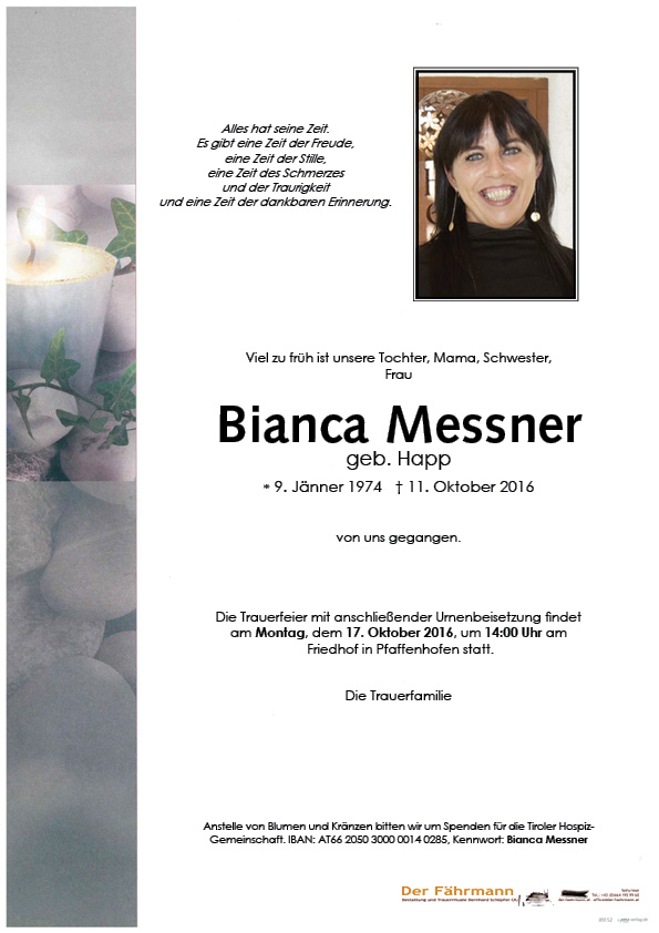Parte Messner Bianca
