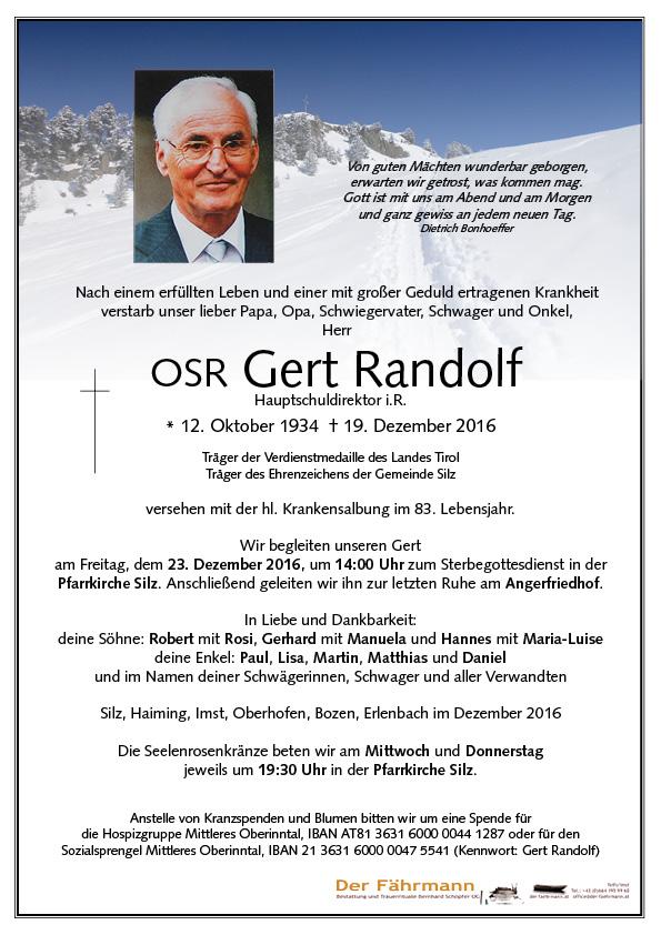 Parte Gert Randolf