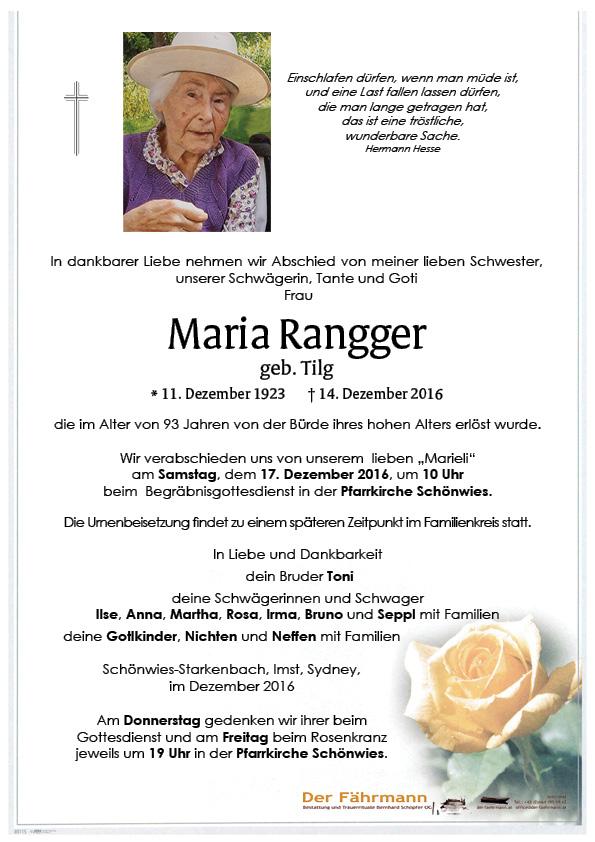 Parte Maria Rangger