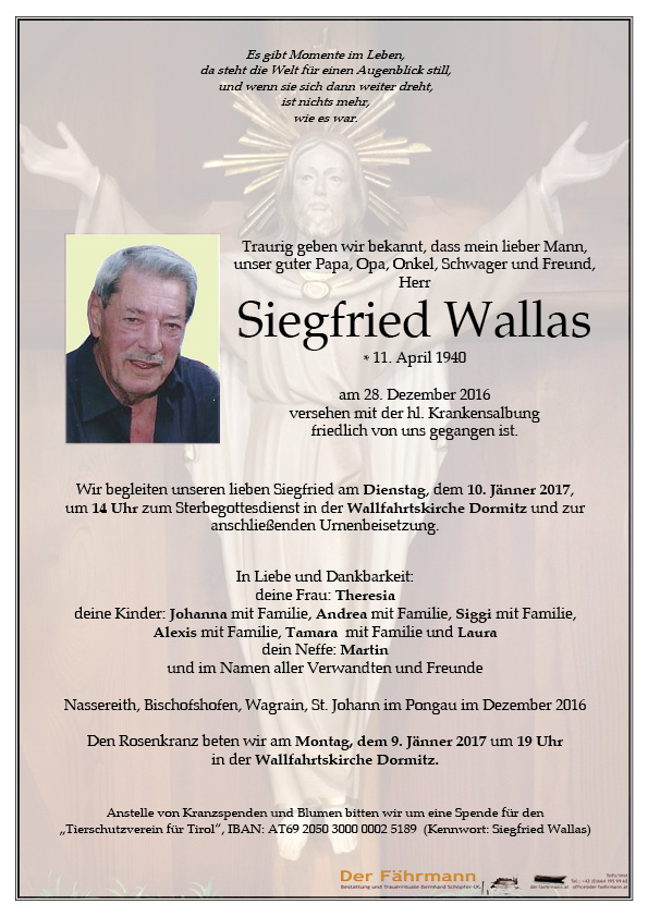 Parte Siegfried Wallas