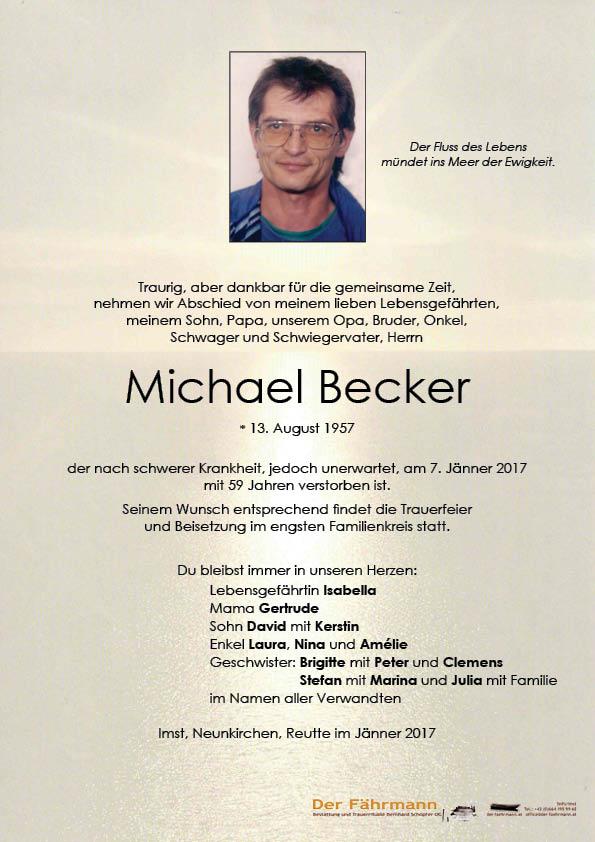 Parte Becker Michael