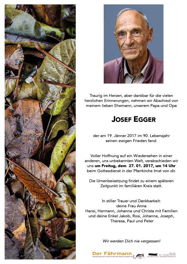 parte Josef Egger
