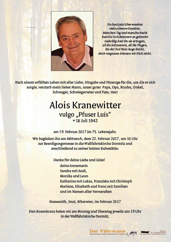 Parte Alois Kranewitter