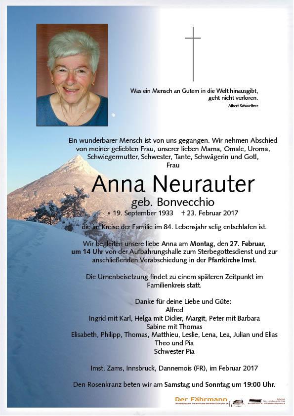 parte anna Neurauter
