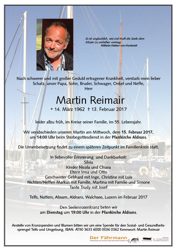parte Martin Reimair