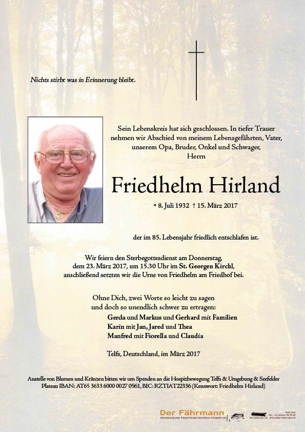 Parte Friedhelm Hirland