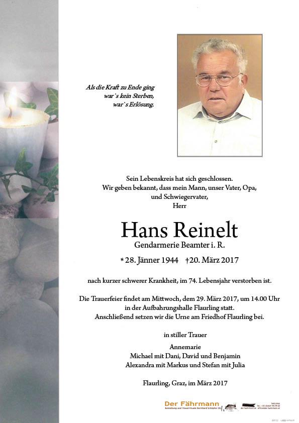 Parte Hanns Reinelt