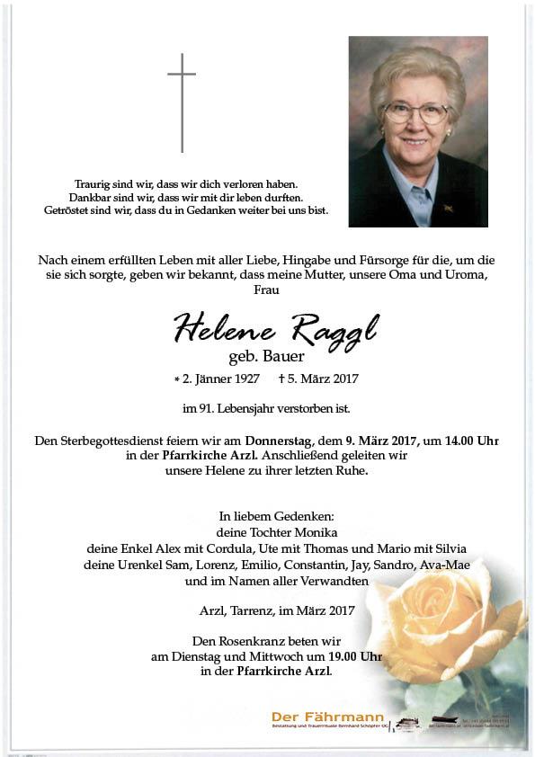 parte Helene Raggl
