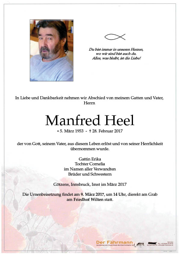 parte Manfred Heel
