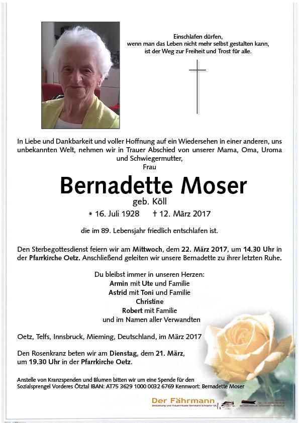 parte Bernadette Moser