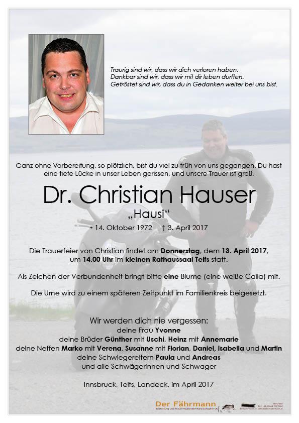 Parte Christian Hauser