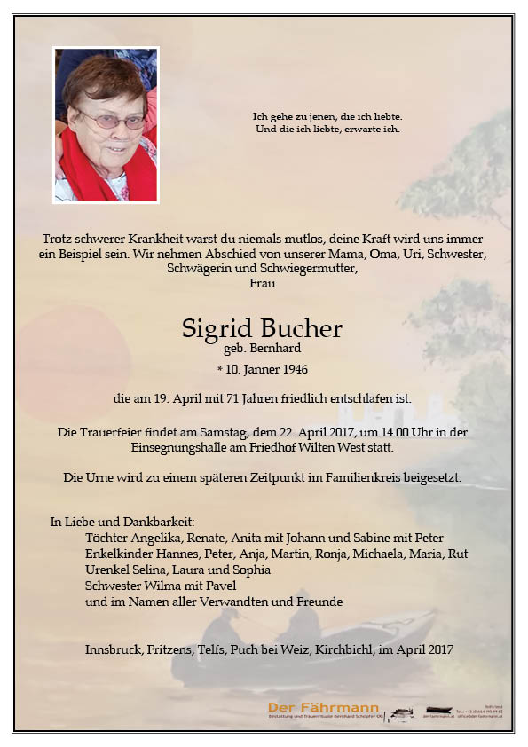 Parte Sigrid Bucher
