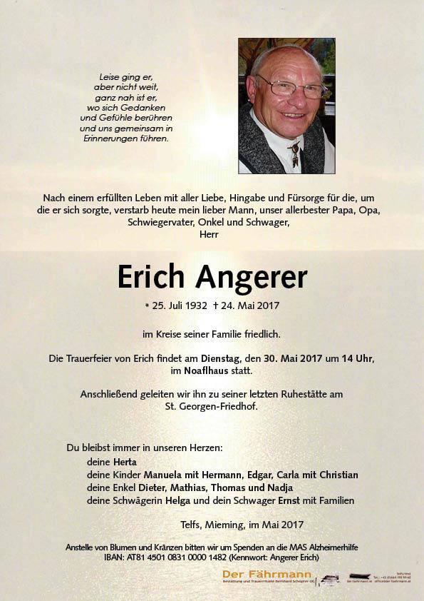 Parte Erich Angerer