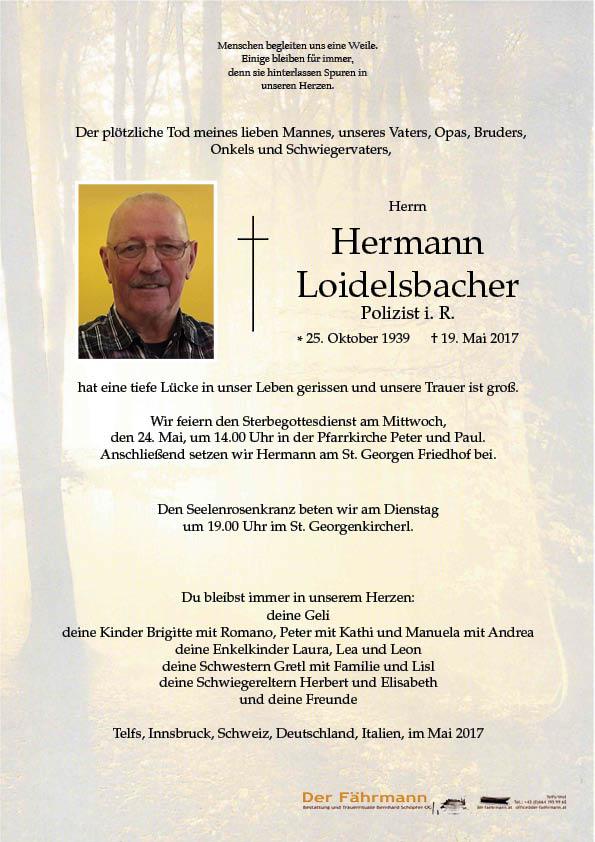 Parte Hermann Loidelsbacher