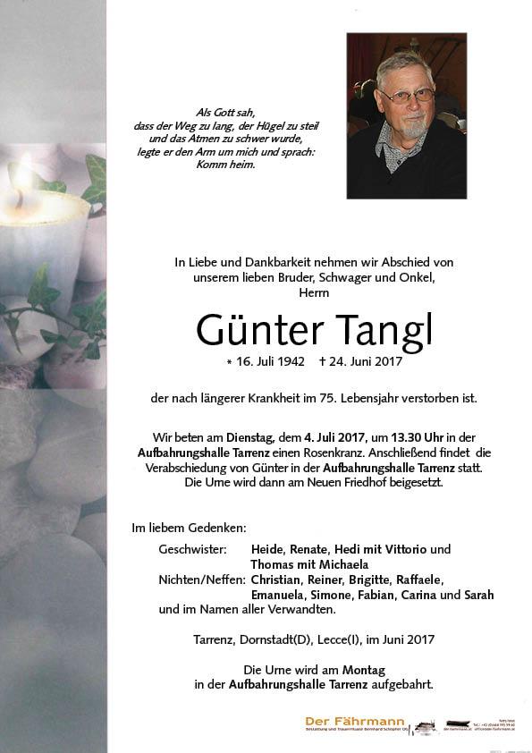 parte Tangl Günter