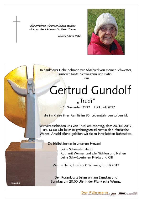 Parte Gertud Gundolf