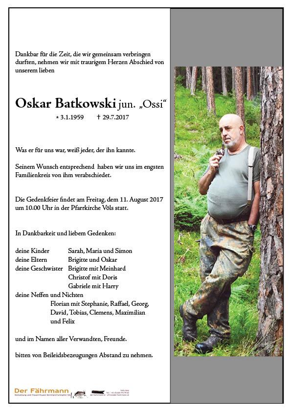 Parte Batkowski Oskar