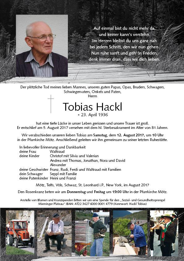 Parte Hackl Tobias