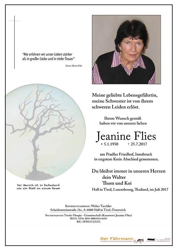 Parte Jeanine Flies